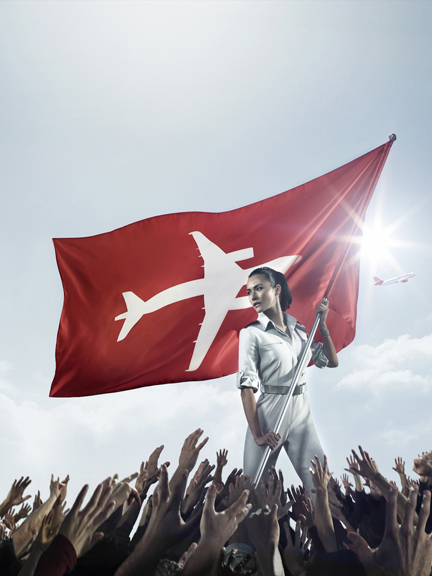 DF•CREATIVE Lends a Hand to Virgin America's Rock Star Campaign