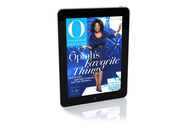 DigitalFusion CREATIVE Helps Bring Oprah to the iPad With 'O, The Oprah Magazine' December 2010 Digital Issue