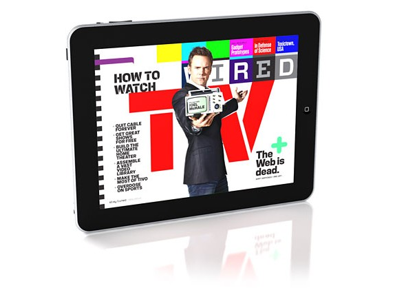 DigitalFusion CREATIVE Breaks New Ground With the First Moving Magazine Cover for WIRED Magazine on the iPad