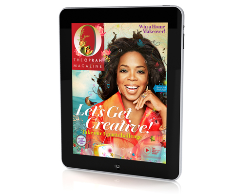 DF•CREATIVE Brings an Illustration Magically to Life for the Creative Issue of 'O,The Oprah Magazine'