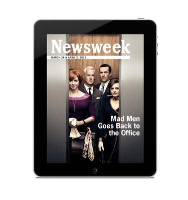 DF•CREATIVE puts Mad Men in motion for Newsweek's special retro issue on the iPad