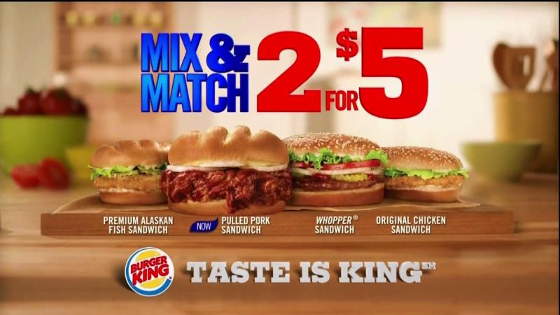 DF•CREATIVE Pushes Pixels for The Memphis Pulled Pork Sandwich from Burger King