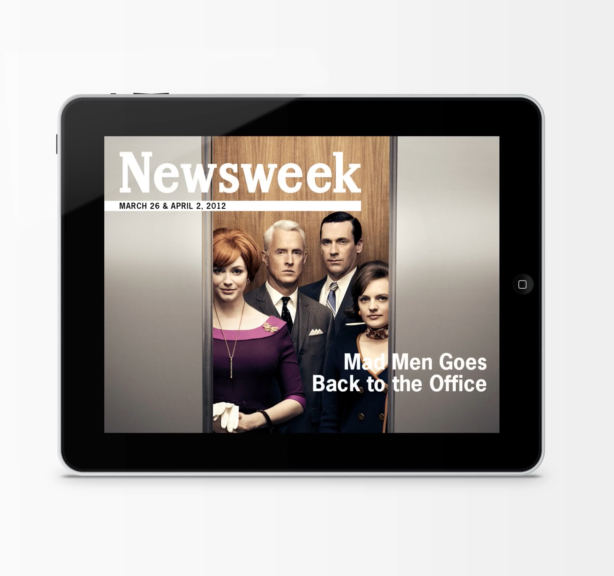 Newsweek Mad Men Cover - Horizontal