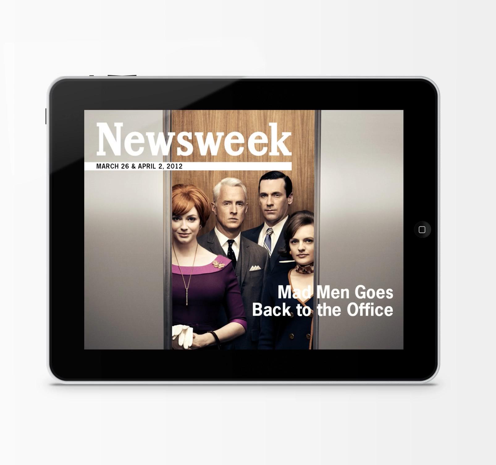 Newsweek Mad Men Cover - Horizontal