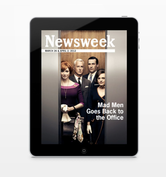 Newsweek Mad Men Cover - Vertical